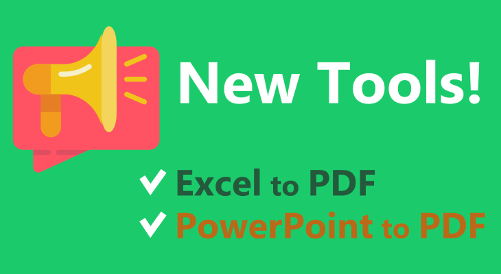 GorillaPDF Features Excel to PDF and PowerPoint to PDF Converter Tools