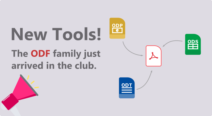 New tools from the ODF family